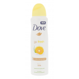 Dove Go Fresh Grapefruit & Lemongrass 48h Antiperspirant pre ženy 150 ml