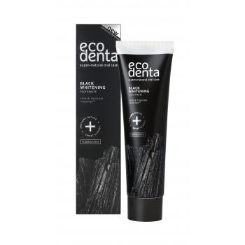 Ecodenta Toothpaste Black Whitening Zubná pasta 100 ml
