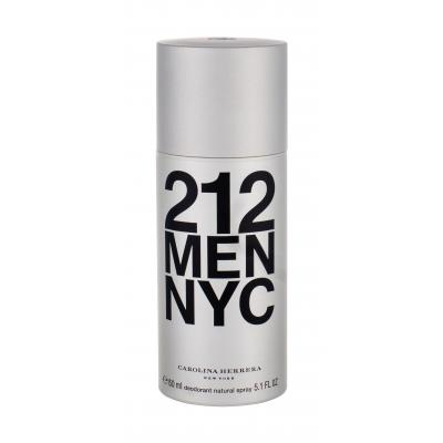 Carolina Herrera 212 NYC Men 150 ml dezodorant deospray pre mužov