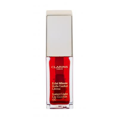 Clarins Instant Light Lip Comfort Oil 7 ml lesk na pery pre ženy 03 Red Berry