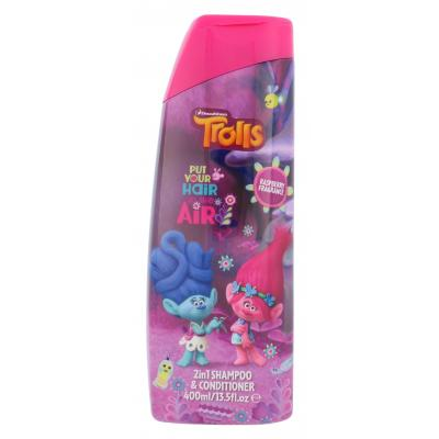 DreamWorks Trolls 2in1 Shampoo & Conditioner 400 ml šampón