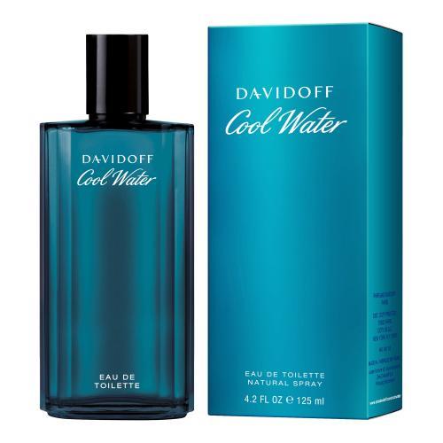 Davidoff Cool Water 125 ml toaletná voda pre mužov