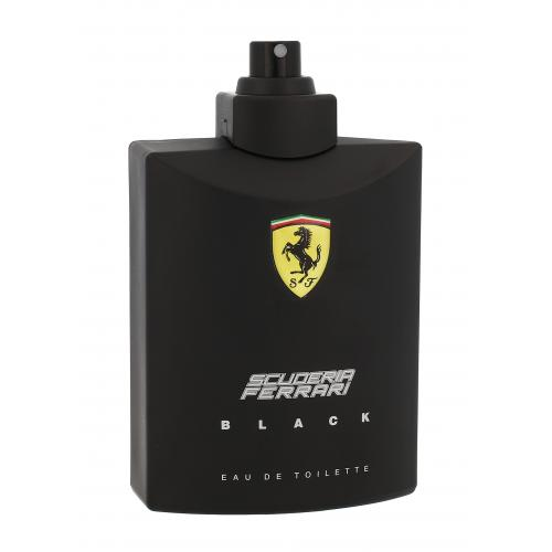 Ferrari Scuderia Ferrari Black 125 ml toaletná voda tester pre mužov