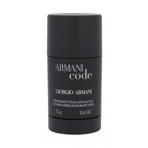 Giorgio Armani Code 75 ml dezodorant deostick pre mužov