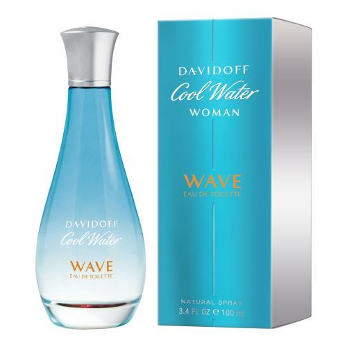 Davidoff Cool Water Wave Woman 100 ml toaletná voda pre ženy