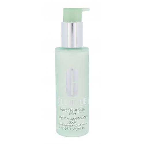 Clinique Liquid Facial Soap Mild 200 ml čistiace pleťové tekuté mydlo pre ženy