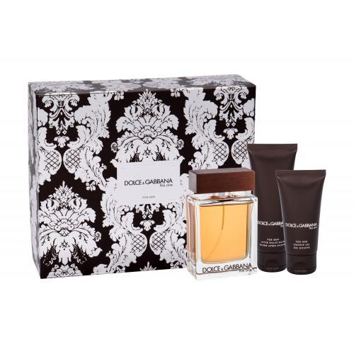 Dolce&Gabbana The One For Men darčeková kazeta pre mužov toaletná voda 100 ml + balzam po holení 75 ml + sprchovací gél 50 ml