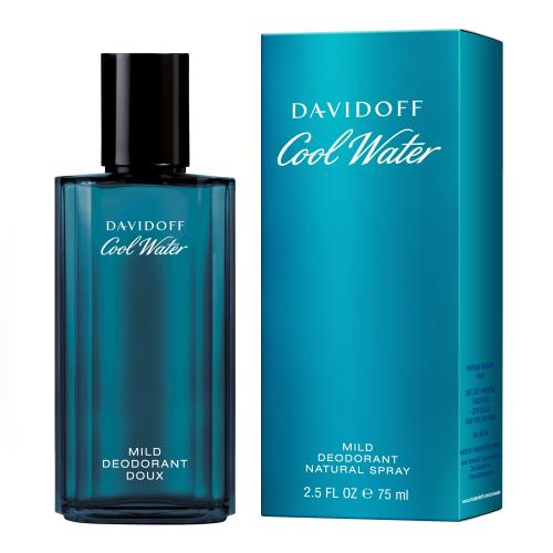 Davidoff Cool Water 75 ml dezodorant deospray pre mužov
