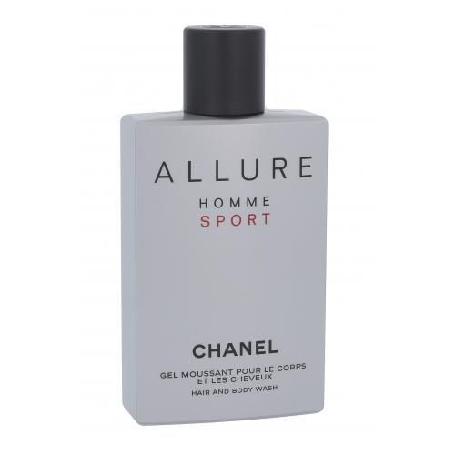 Chanel Allure Homme Sport 200 ml sprchovací gél pre mužov