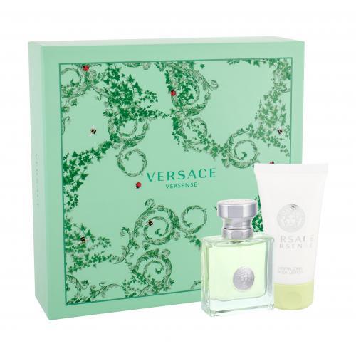 Versace Versense darčeková kazeta pre ženy toaletná voda 30 ml + telové mlieko 50 ml