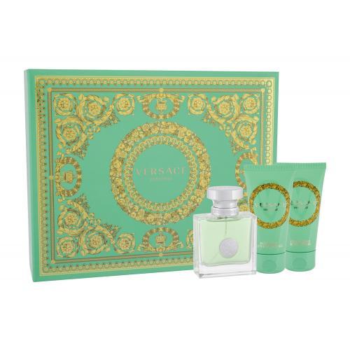 Versace Versense darčeková kazeta pre ženy toaletná voda 50ml + 50ml telové mlieko + 50ml sprchovací gél