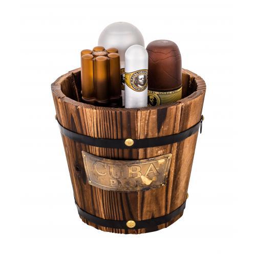 Cuba Gold darčeková kazeta pre mužov toaletná voda 100 ml + voda po holení 100 ml + dezodorant 200 ml + toaletná voda 35 ml