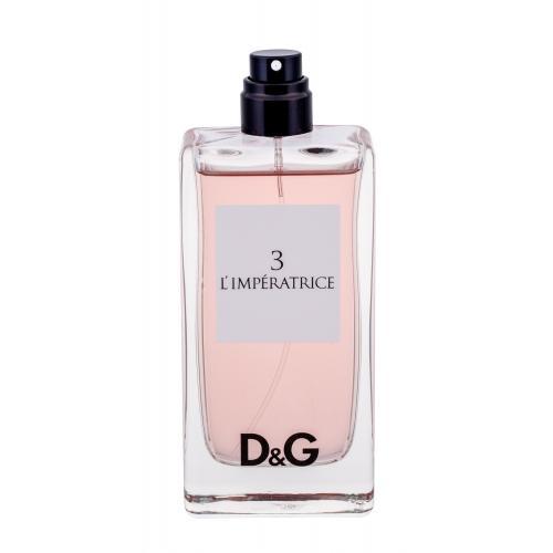 Dolce&Gabbana D&G Anthology L´imperatrice 3 100 ml toaletná voda tester pre ženy