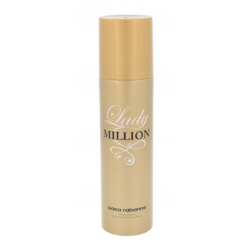 Paco Rabanne Lady Million 150 ml dezodorant deospray pre ženy
