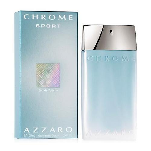 Azzaro Chrome Sport 100 ml toaletná voda tester pre mužov