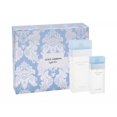 Dolce&Gabbana Light Blue darčeková kazeta pre ženy toaletná voda 100 ml + toaletná voda 25 ml