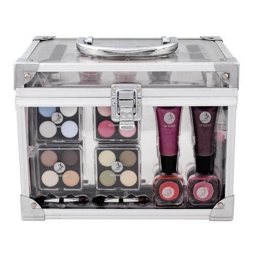 Makeup Trading Transparent dekoratívna kazeta pre ženy Complete Makeup Palette