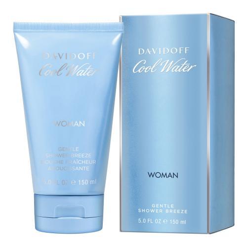 Davidoff Cool Water Woman 150 ml sprchovací gél pre ženy