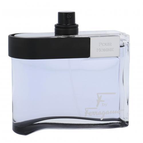 Salvatore Ferragamo F by Ferragamo Black 100 ml toaletná voda tester pre mužov