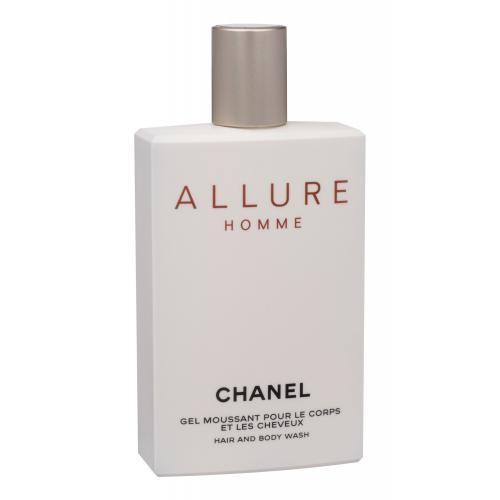 Chanel Allure Homme 200 ml sprchovací gél pre mužov