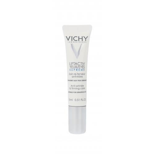 Vichy Liftactiv Yeux Supreme 15 ml protivráskový očný krém poškodená krabička pre ženy