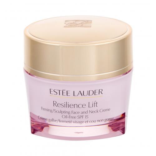 Estée Lauder Resilience Lift Face and Neck Creme Oil-Free SPF15 50 ml spevňujúíci krém na tvár a krk bez obsahu olejov pre ženy