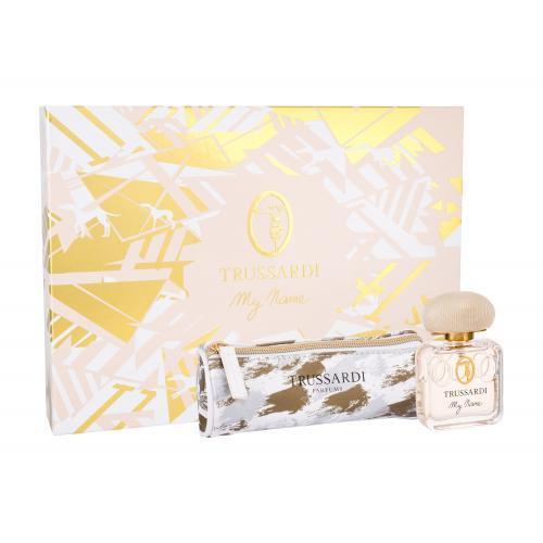 Trussardi My Name Pour Femme darčeková kazeta pre ženy parfumovaná voda 50 ml + kozmetická taška