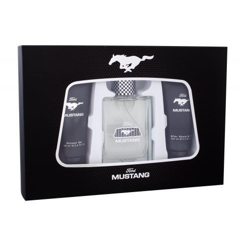 Ford Mustang Mustang darčeková kazeta pre mužov toaletná voda 100 ml + sprchovací gél 100 ml + balzam po holení 100 ml