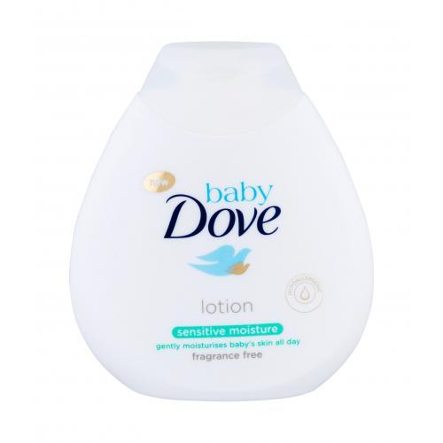 Dove Baby Sensitive Moisture 200 ml detské telové mlieko bez parfumácie pre deti
