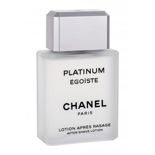 Chanel Platinum Égoïste Pour Homme 100 ml voda po holení poškodená krabička pre mužov