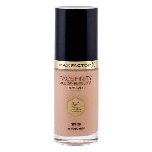 Max Factor Facefinity 3 in 1 SPF20 30 ml tekutý make-up s uv ochranou pre ženy 35 Pearl Beige