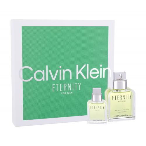 Calvin Klein Eternity For Men darčeková kazeta pre mužov Edt 100ml + 30ml Edt