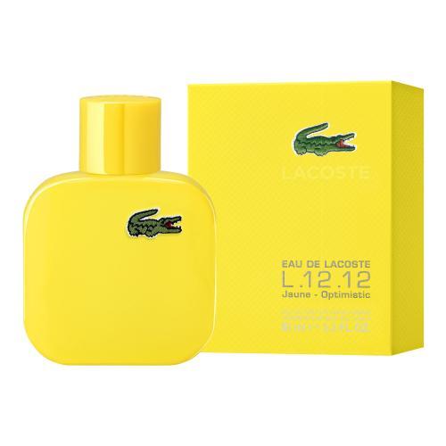 Lacoste Eau De Lacoste L.12.12 Yellow 50 ml toaletná voda pre mužov