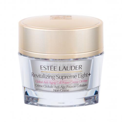 Estée Lauder Revitalizing Supreme Light+ Global Anti-Aging Cell Power Creme Oil-Free 50 ml rozjasňujúci krém proti vráskam pre normálnu a zmiešanú pleť pre ženy