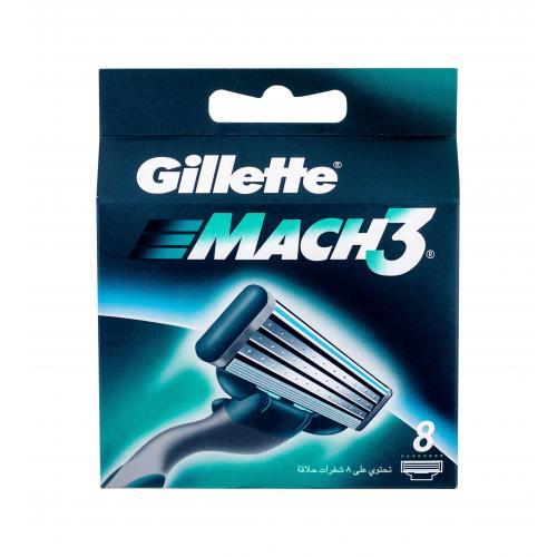 Gillette Mach3 8 ks náhradné ostrie pre mužov