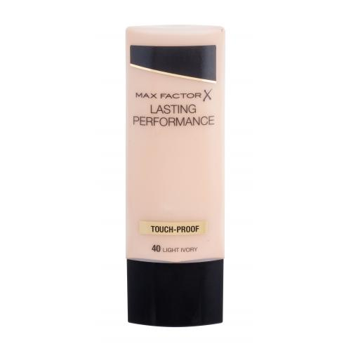 Max Factor Lasting Performance 35 ml oteruodolný jemný makeup pre ženy 40 Light Ivory