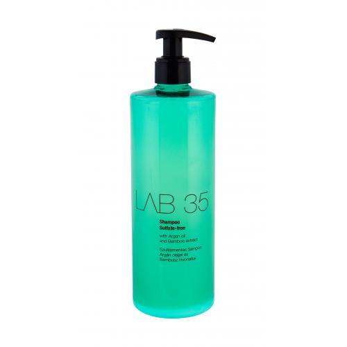Kallos Cosmetics Lab 35 Sulfate-Free 500 ml vyživujúci šampón bez sulfátov a parabénov pre ženy