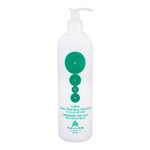Kallos Cosmetics KJMN Deep Cleansing 500 ml šampón pre mastné vlasy a pokožku hlavy pre ženy