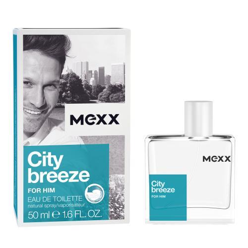 Mexx City Breeze For Him 50 ml toaletná voda pre mužov