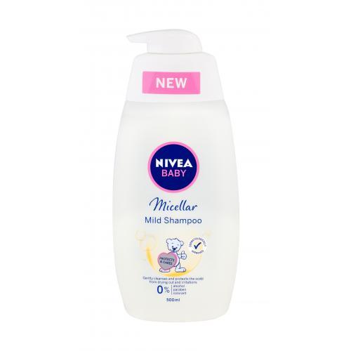 Nivea Baby Micellar 500 ml jemný micelárny šampón pre detské vlásky pre deti
