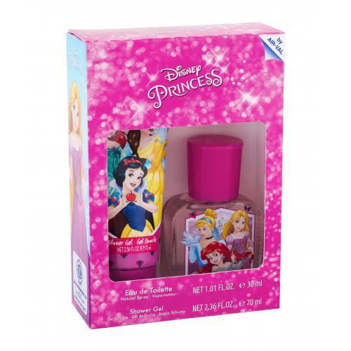 Disney Princess Princess darčeková kazeta pre deti toaletná voda 30 ml + sprchovací gél 70 ml