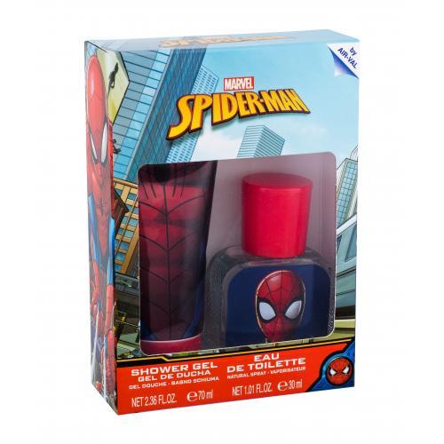 Marvel Spiderman darčeková kazeta pre deti toaletná voda 30 ml + sprchovací gél 70 ml