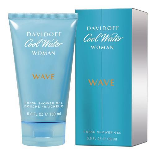 Davidoff Cool Water Wave Woman 150 ml sprchovací gél pre ženy