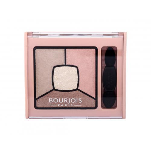 BOURJOIS Paris Smoky Stories Quad Eyeshadow Palette 3,2 g paletka očných tieňov pre ženy 14 Tomber Des Nudes