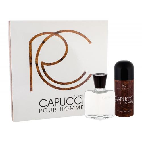 Roberto Capucci Capucci Pour Homme darčeková kazeta pre mužov voda po holení 100 ml + dezodorant 150 ml