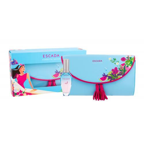 ESCADA Sorbetto Rosso darčeková kazeta pre ženy toaletná voda 30 ml + kozmetická taška