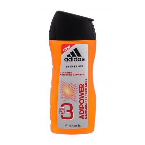 Adidas AdiPower 250 ml sprchovací gél pre mužov