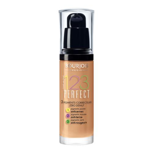 BOURJOIS Paris 123 Perfect 30 ml dlhotrvajúci make-up pre ženy 57 Light Bronze