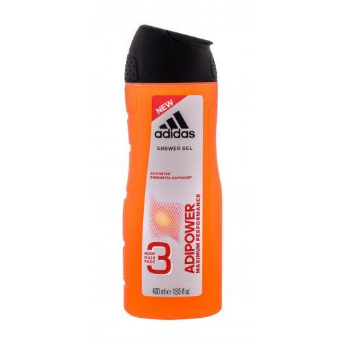 Adidas AdiPower 400 ml sprchovací gél pre mužov