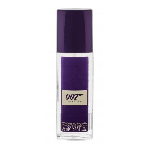 James Bond 007 James Bond 007 For Women III 75 ml dezodorant deospray pre ženy